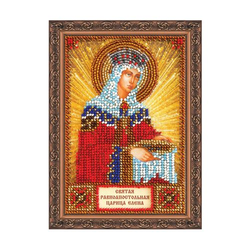 ААМ-005 Набор для вышивания бисером 'Святая Елена', 10*15 см
