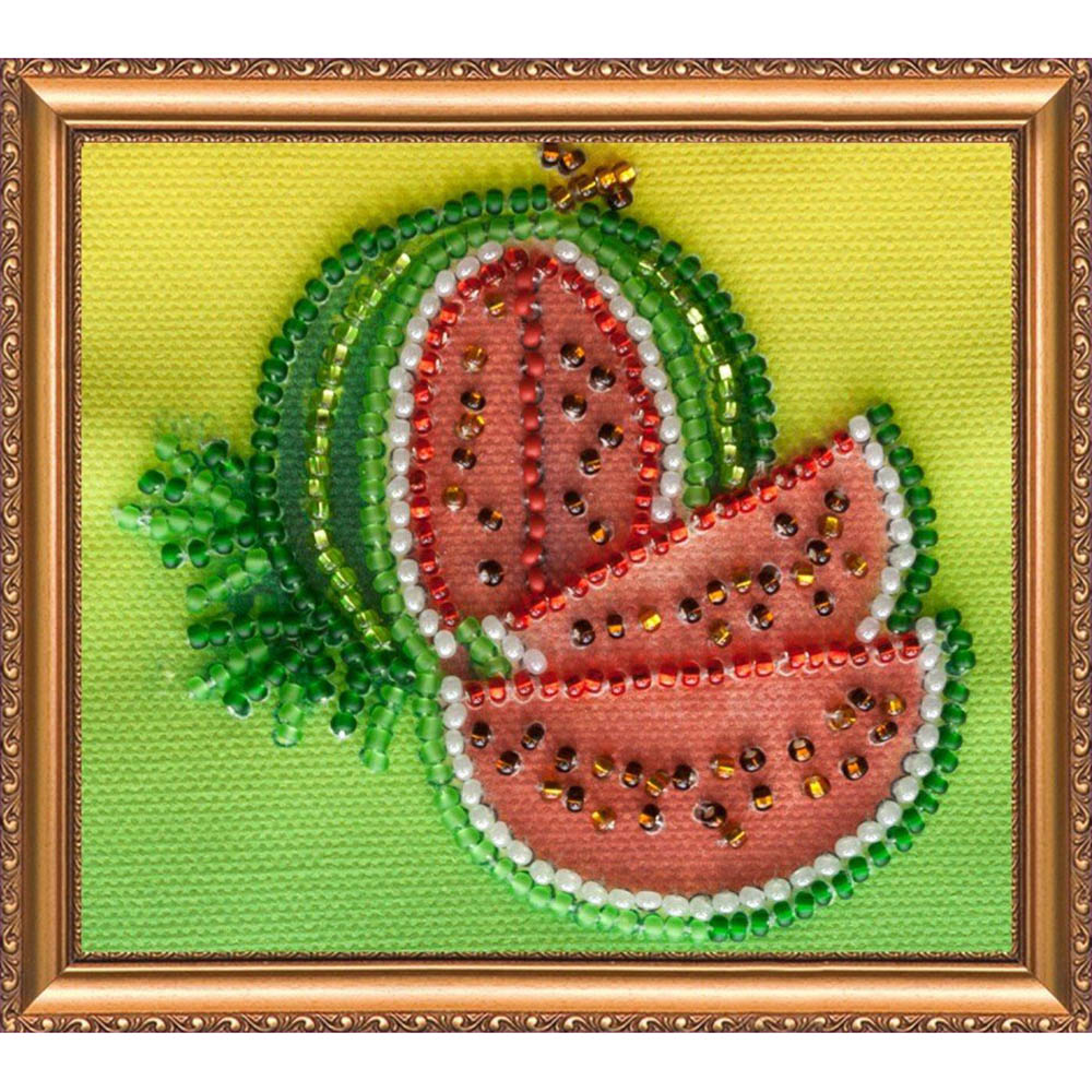 АМА-005 Набор-магнит для вышивания 'Абрис Арт' 'Арбузик', 8*7 см