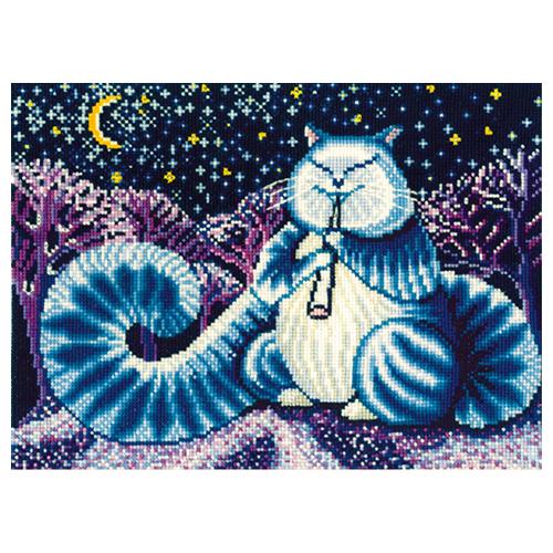 Л-07 Набор для вышивания 'Лунный кот', 40*31 см
