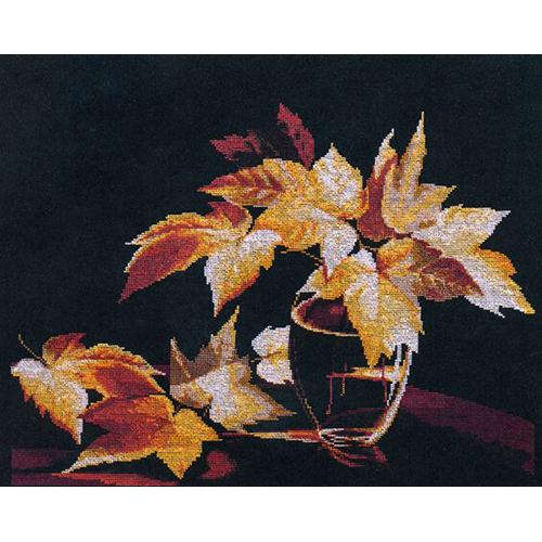 1128 Набор для вышивания Alisena 'Золото осени', 37*27 см