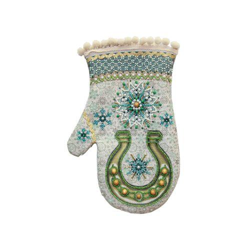 8207 Набор для шитья и вышивания 'Матренин посад' варежка 'Морозное утро', 18*25 см