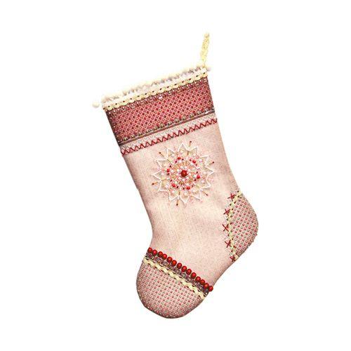 8201 Набор для шитья и вышивания 'Матренин посад' носочек 'Северное сияние', 19*30 см