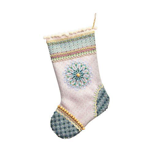 8202 Набор для шитья и вышивания 'Матренин посад' носочек 'Морозное утро', 19*30 см