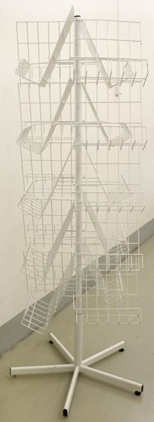 Вертушка 'крест' с полками