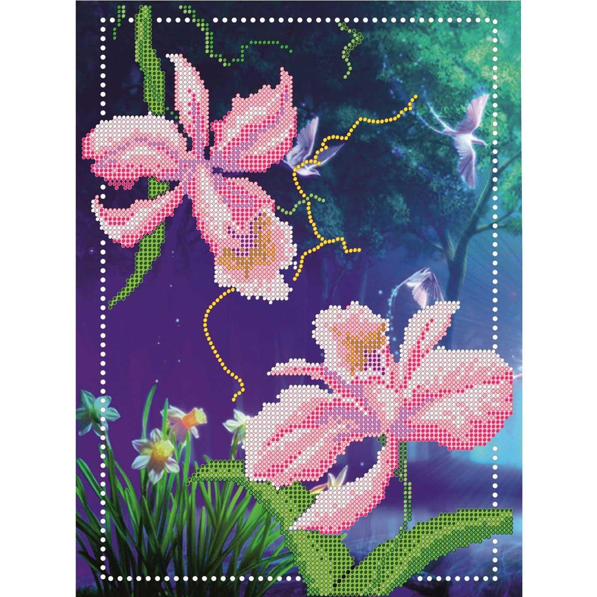 05392 Набор для вышивания бисером 'Аромат цветов'