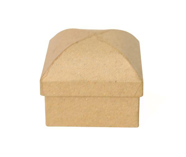 Фигурка из папье-маше, коробка 6*6*6 см