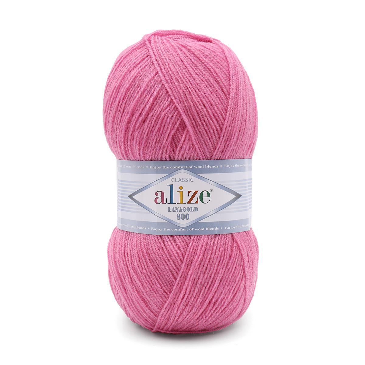 Пряжа ALIZE 'Lanagold 800' 100гр.,800м (49%шерсть, 51%акрил)