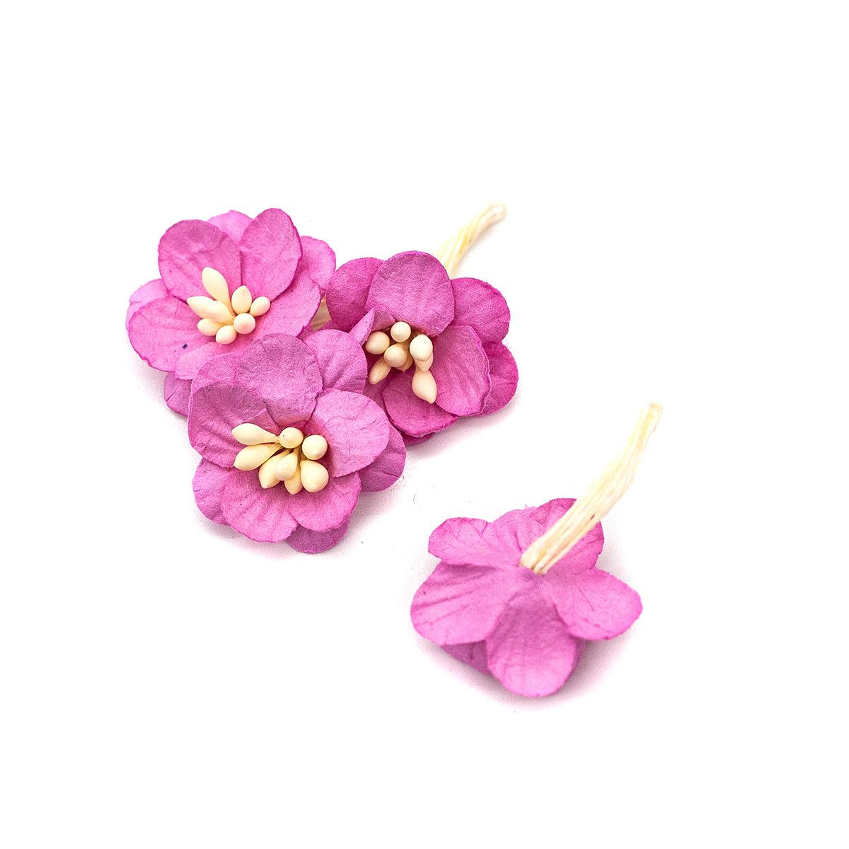 SCB3002 Набор цветки вишни из бумаги, упак./10 шт.