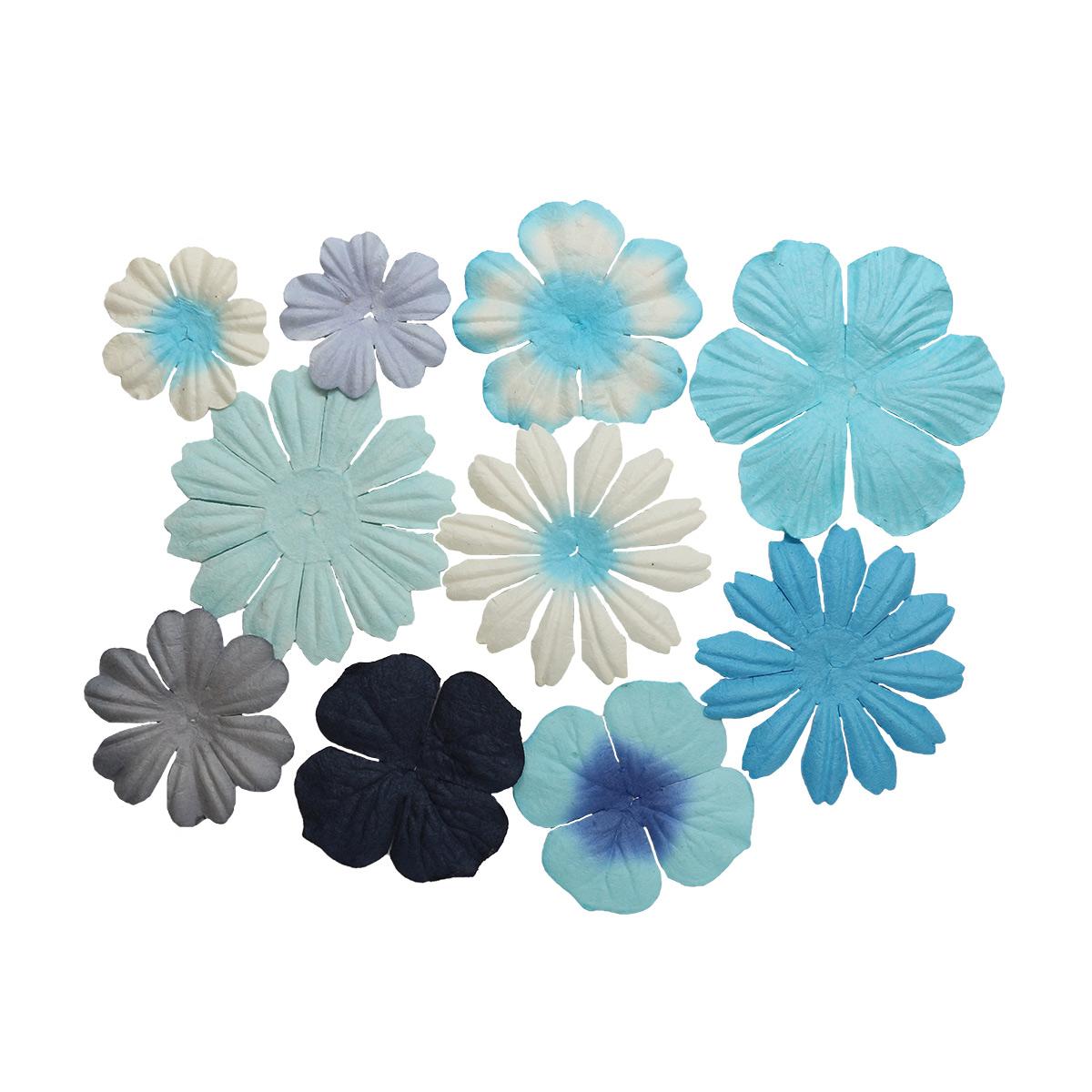 SCB3003 Набор цветочков из шелковичной бумаги, упак./10 шт.