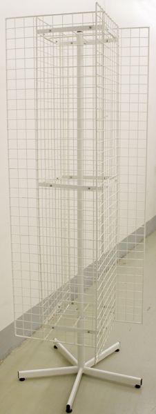 Вертушка 'крест' с 4-мя сетками 760х760х1900 (500х1700 размер сетки)ВЛ