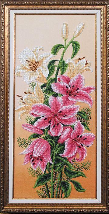 Б-131 Набор для вышивания бисером 'Магия канвы' 'Вдохновение Лилии', 61х24,5 см