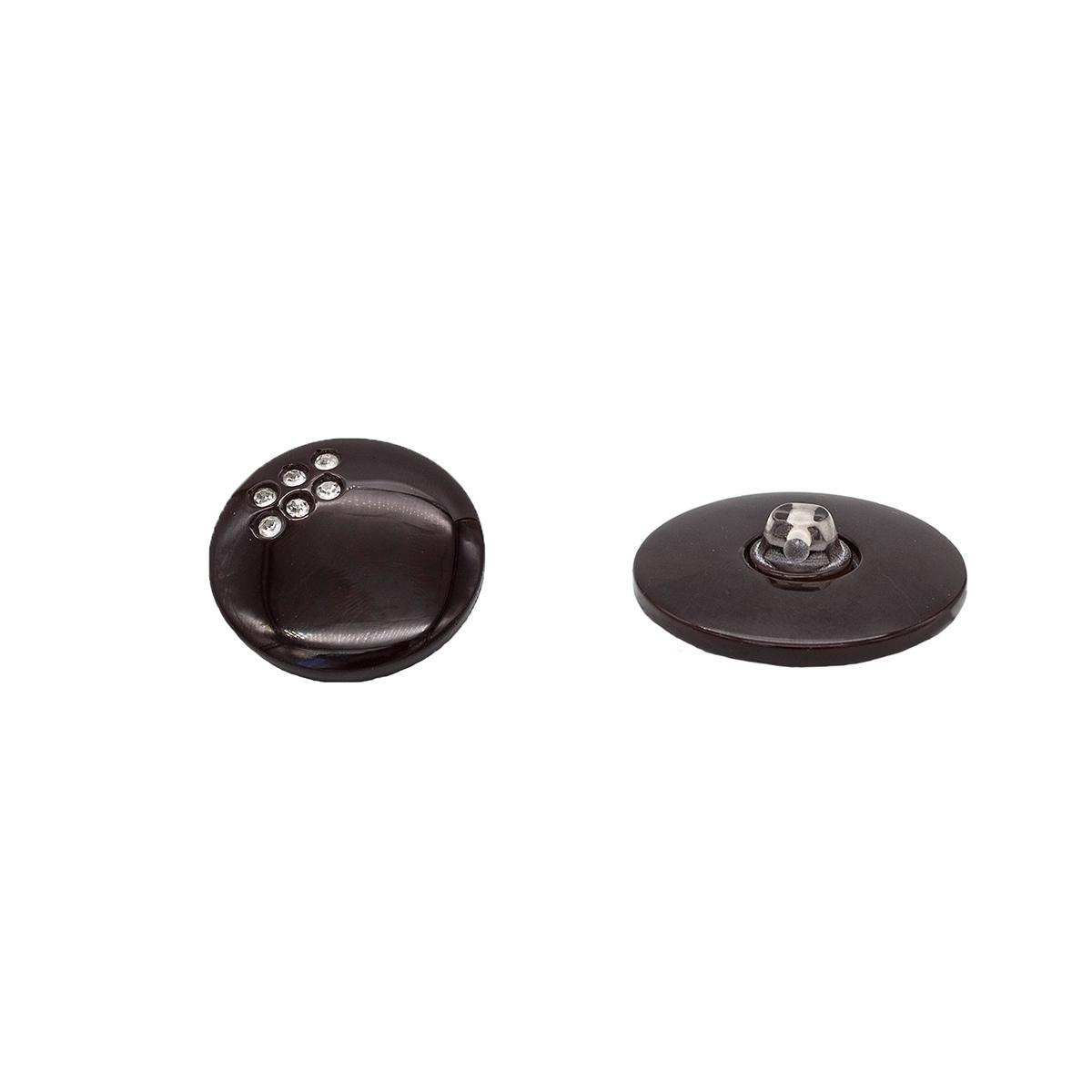 Б101 Пуговица (3.01 1219 32) (коричневый)