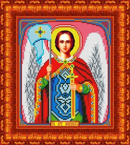 КБИ-4071 Канва с рисунком для бисера 'Св. Архангел Михаил', А4