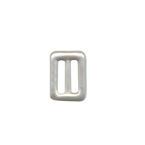 62711 Пряжка-рамка 20мм бел/перл. нейл.