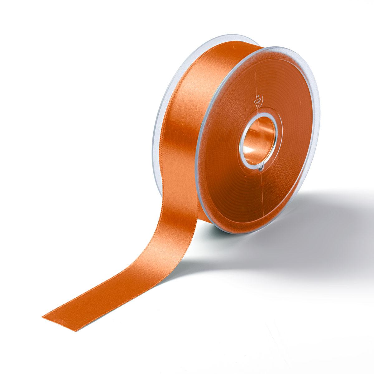 9827 Атласная лента 25мм*25м Prym (30 оранжевый)