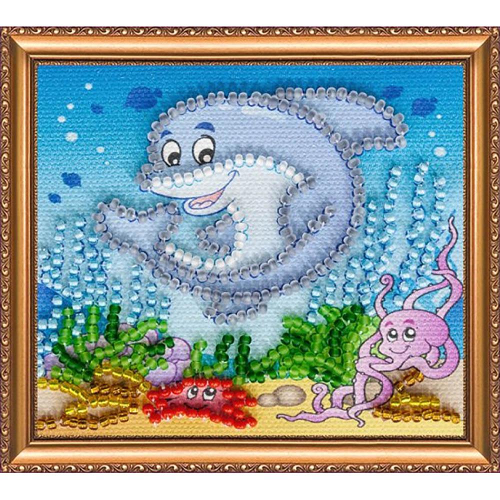 АМА-002 Набор-магнит для вышивания 'Подводное царство'