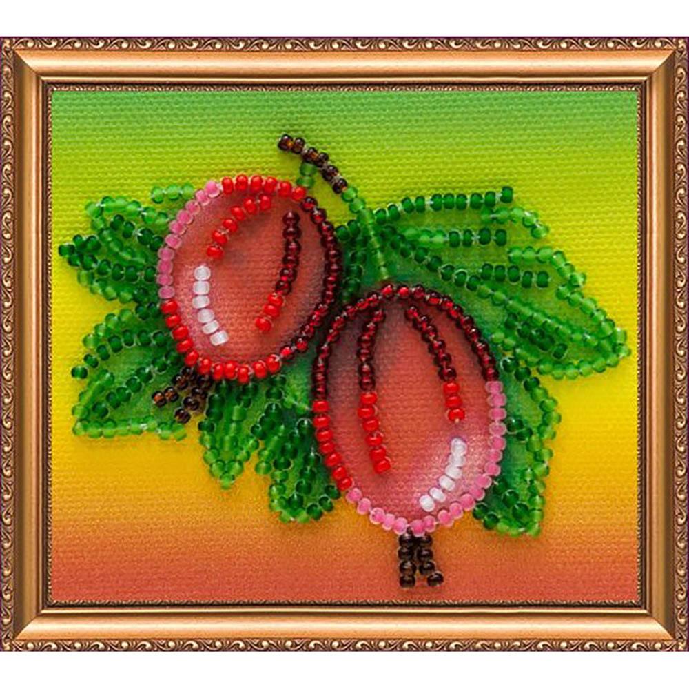 АМА-023 Набор-магнит для вышивания 'Абрис Арт' 'Крыжовник', 8*7 см