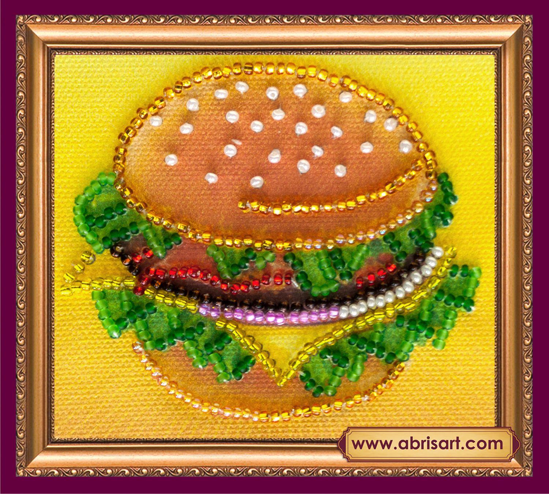 АМА-028 Набор-магнит для вышивания 'Абрис Арт' 'Бутербродик', 8*7 см