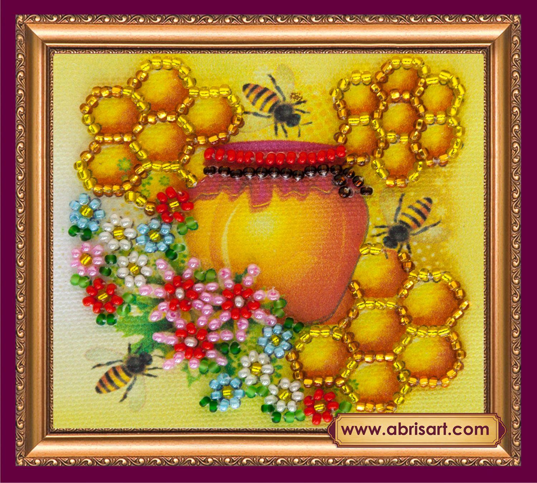 АМА-033 Набор-магнит для вышивания 8*7см 'Майский мед'