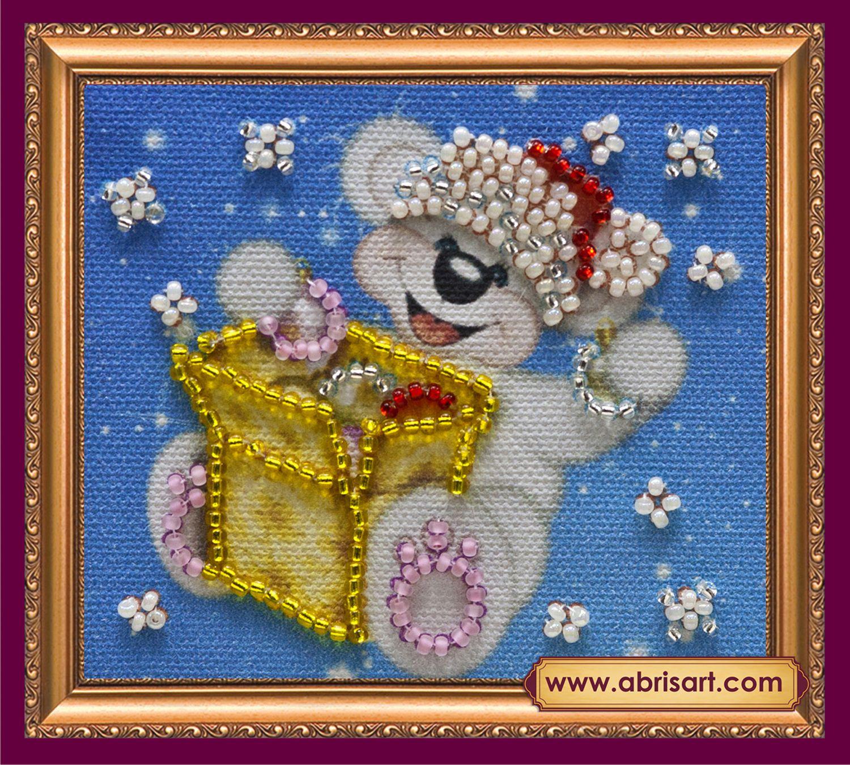 АМА-049 Набор-магнит для вышивания 8*7см 'Подарки-1'
