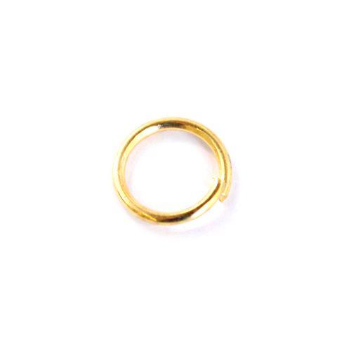 Кольцо S13 для бус, одинарное 4мм (100шт.)