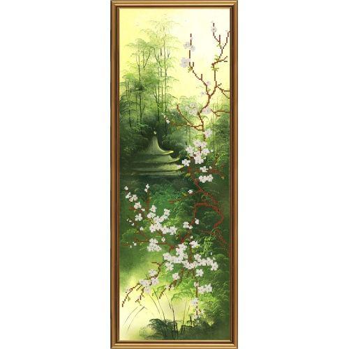 НД6053 Набор для вышивания бисером 'Нова Слобода' 'Китайский мотив', 20x60 см