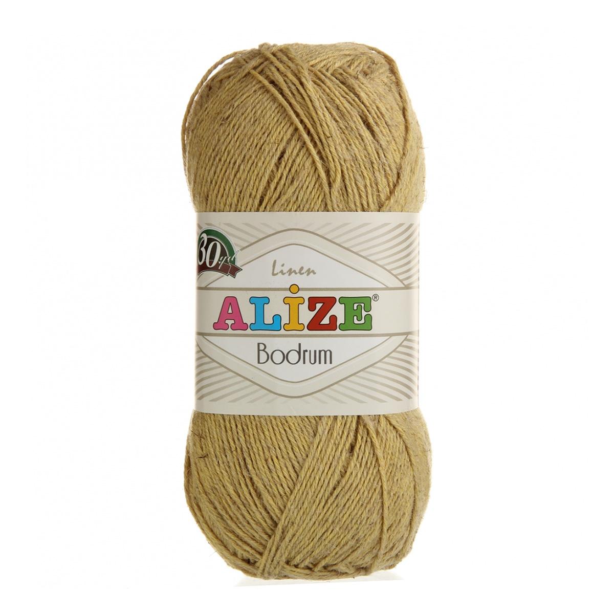 Пряжа ALIZE 'Bodrum' (48%лен,52%полиэстер)ТУ