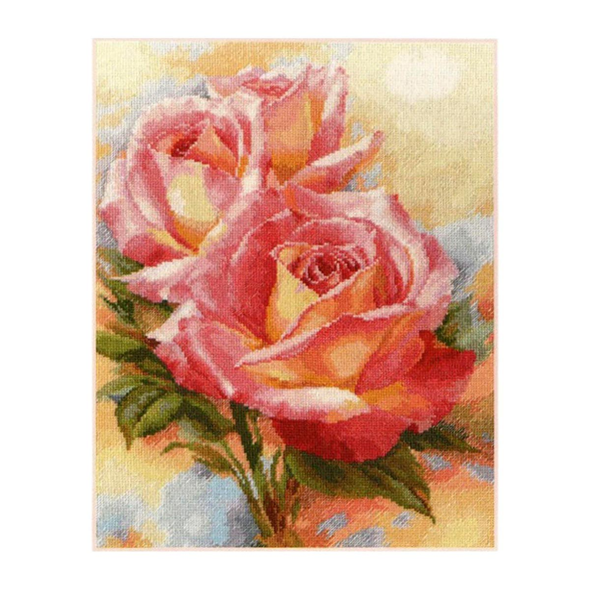 2-31 Набор для вышивания АЛИСА 'Розовые мечты' 28*36см