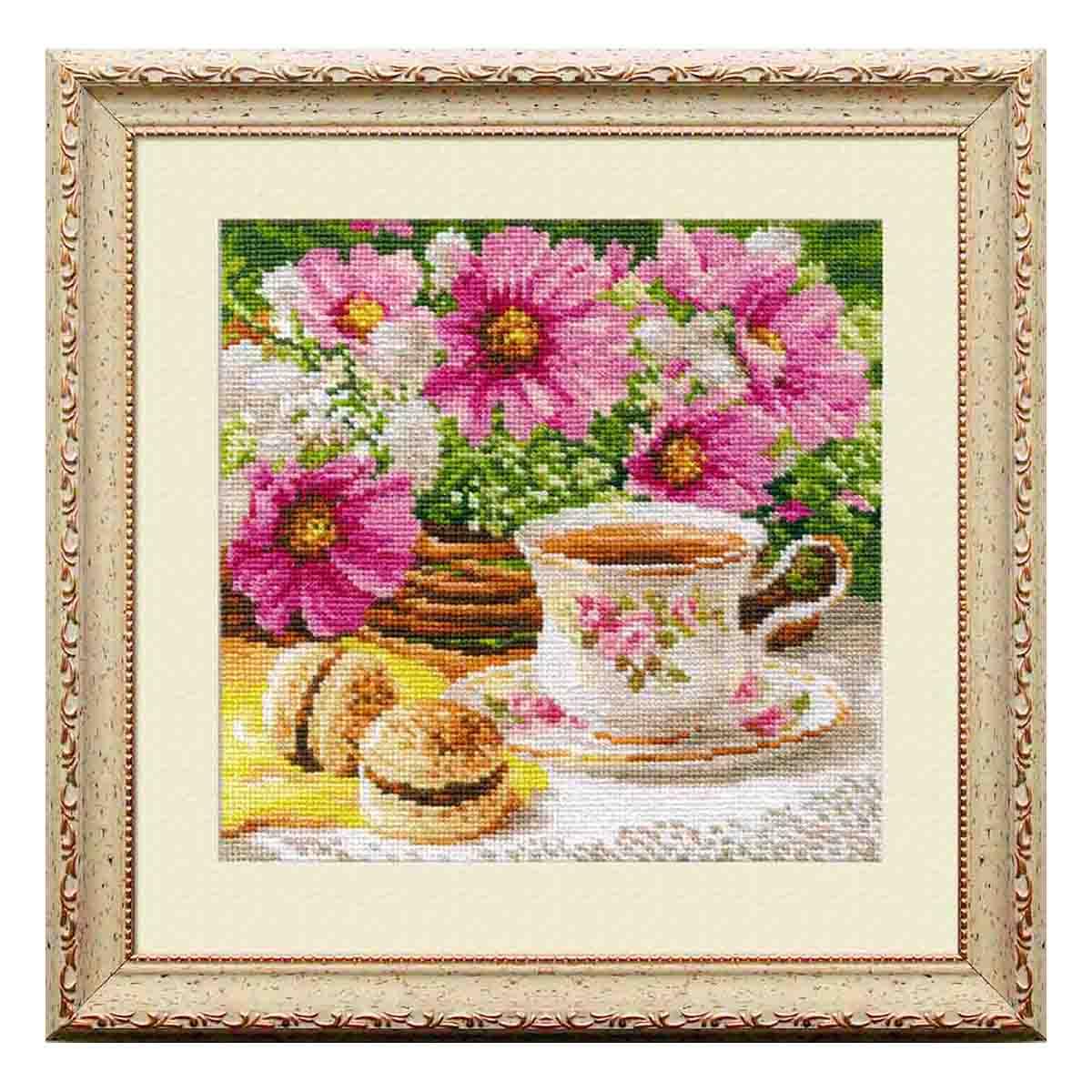 5-12 Набор для вышивания АЛИСА 'Утренний чай' 18*18см фото