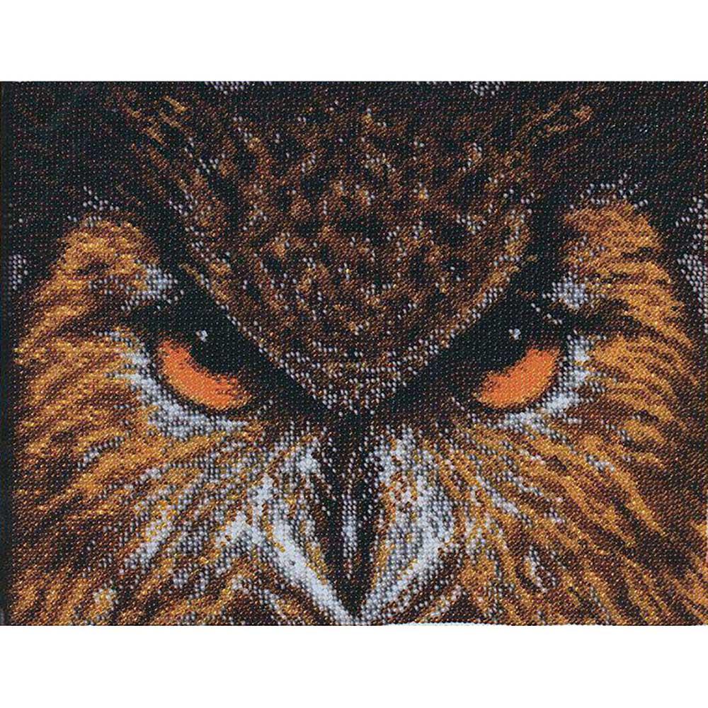 Б-060 Набор для вышивания бисером 'Чарівна Мить' 'Филин', 25,2*19,5 см