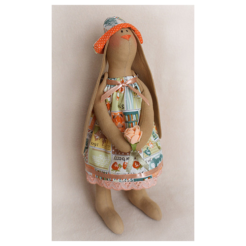 R001 Набор для изготовления текстильной куклы (Ваниль)