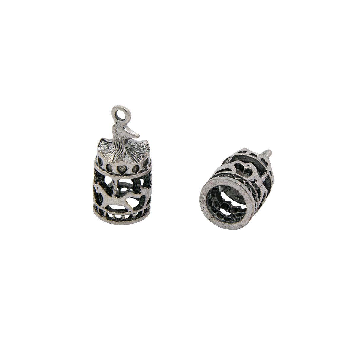 Набор металлических подвесок SCB 250106864 Карусель, 10шт