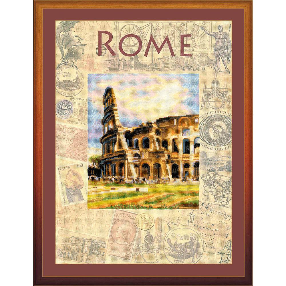 РТ-0026 Набор для вышивания Riolis 'Города мира. Рим', 30*40 см