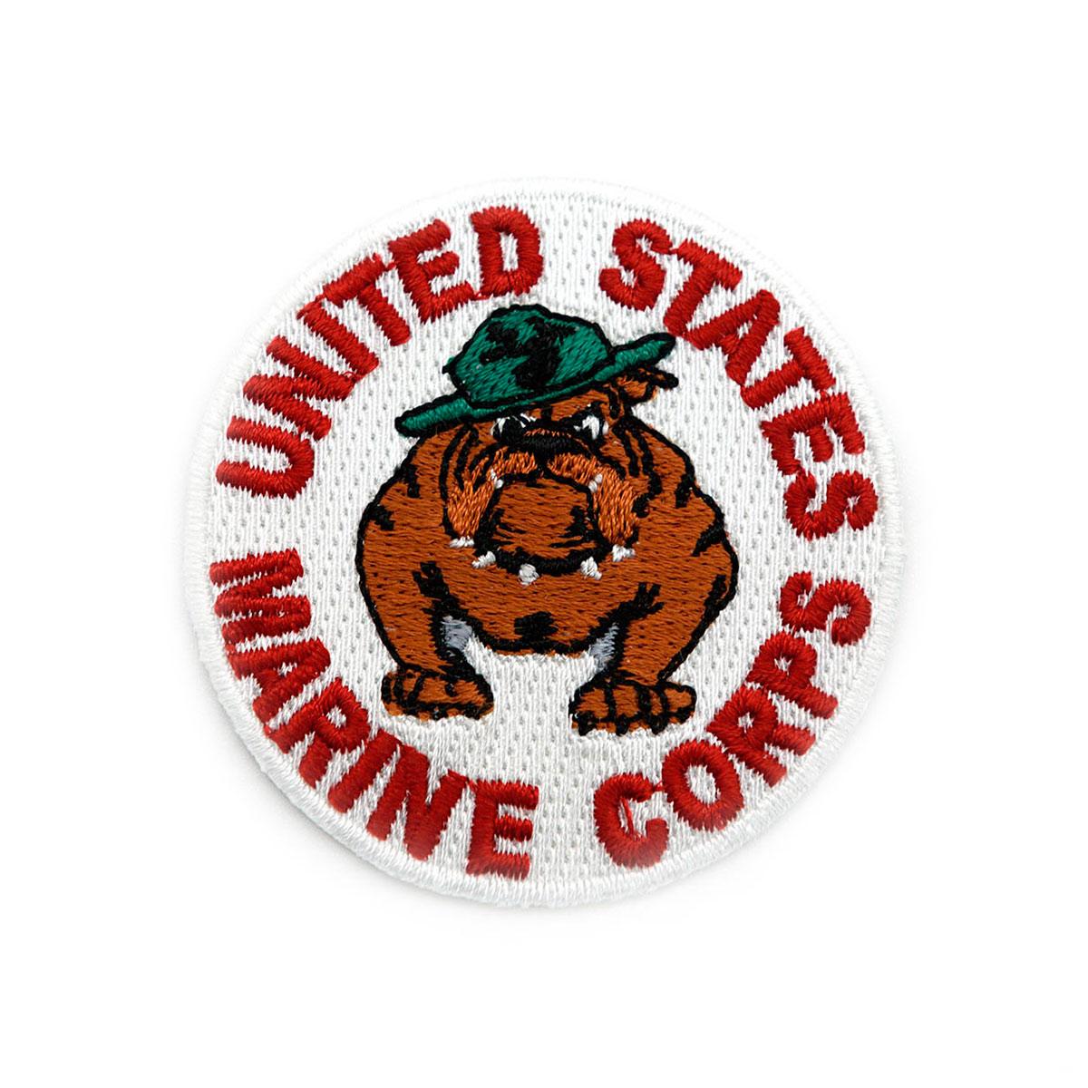 AD1004 Термоаппликация 'Marine Corps United States', d 5,5 см, Hobby&Pro