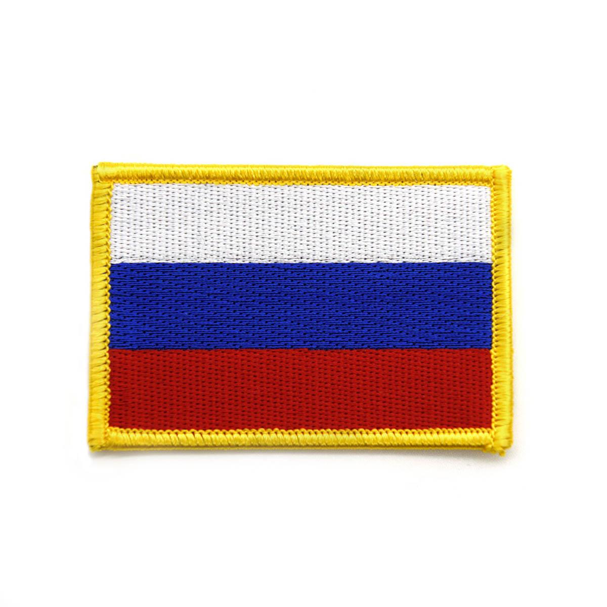 AD1007 Термоаппликация 'Флаг России', 5*7,5 см, Hobby&Pro