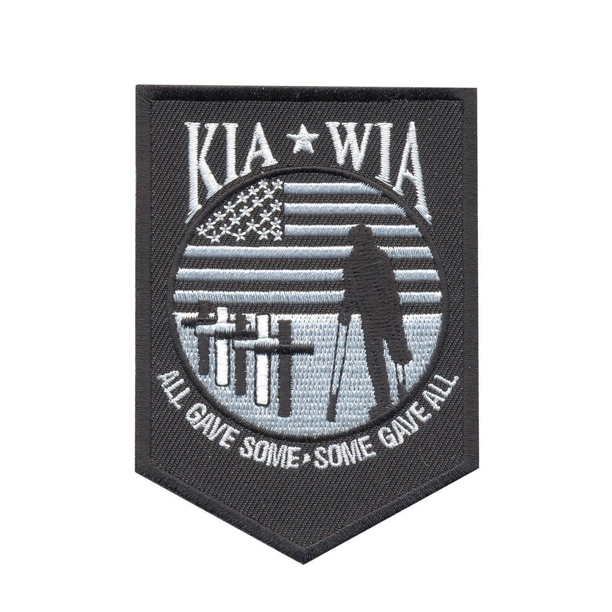 AD1013 Термоаппликация Kia*Wia, 9*6 см, Hobby&Pro