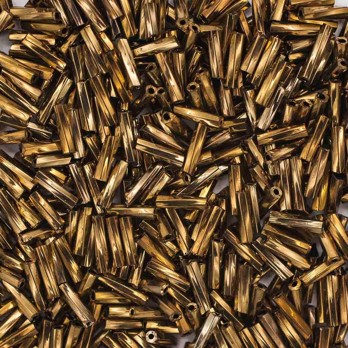 Стеклярус крученый, (стекло), 5 мм, упак./20 гр., 'Астра'
