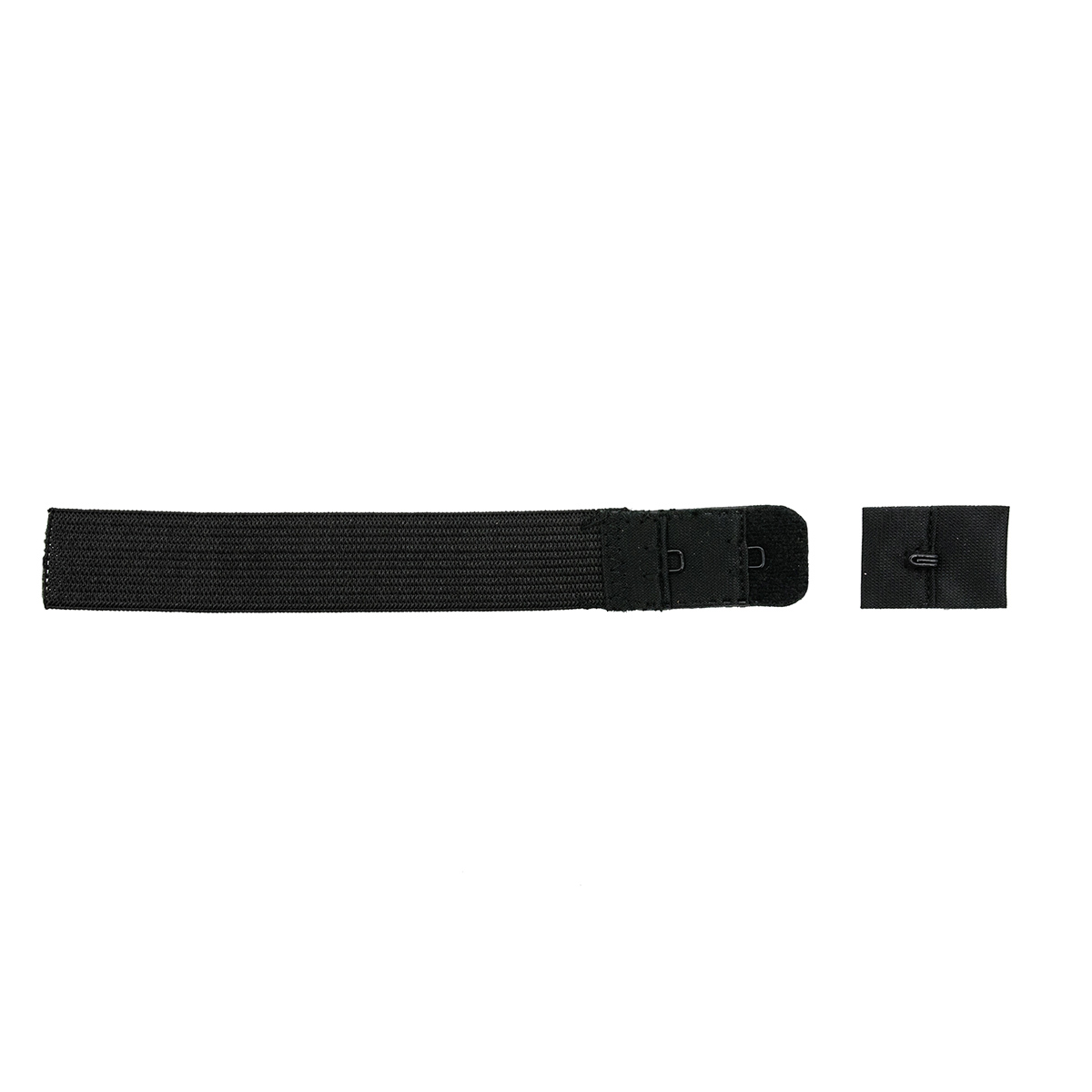 850101 Застежка для бюстгалтера, черный, 19 мм, 1 крючок, Hobby&Pro