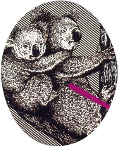 Гравюра 8501 - панда