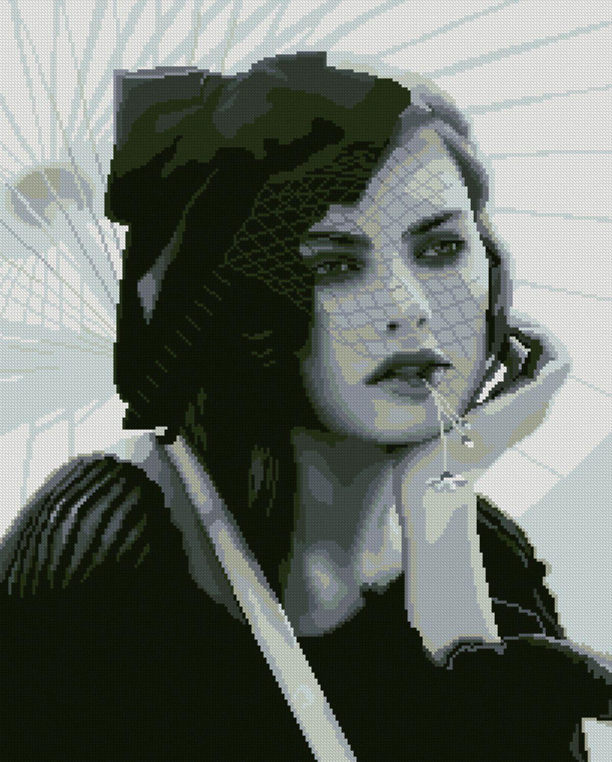 0081 Набор для вышивания'Алиса' 38х47 см