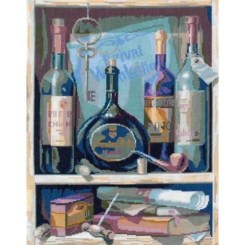0091 Набор для вышивания'Вино' 24х33 см