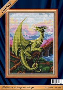 196 Набор для вышивания 'Дыхание дракона'
