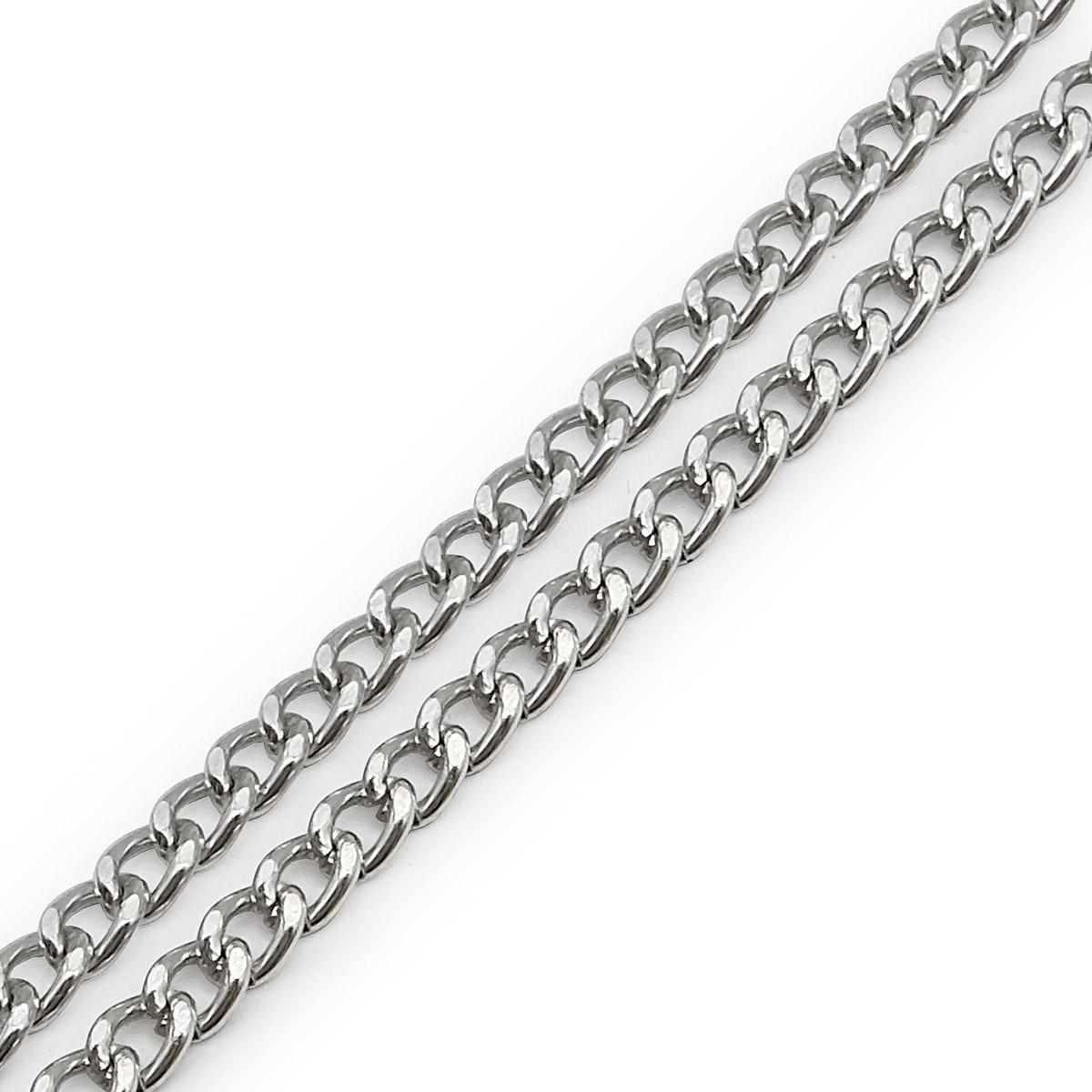 К18602 Цепь алюминиевая, 5,8х4,5 мм (10 м)