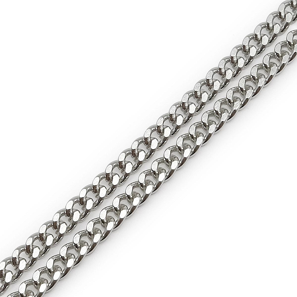 К18601 Цепь алюминиевая, 5,4х4,4 мм (10 м)