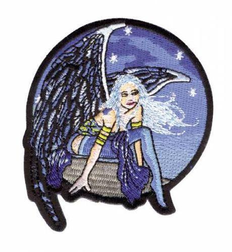 AD1314 Термоаппликация 'Девушка с крыльями', 8, 9*7,6 см, Hobby&Pro