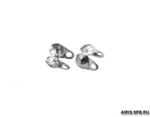 HA00084 Скуфейки, 2 мм, упак./100 шт., 'Астра'