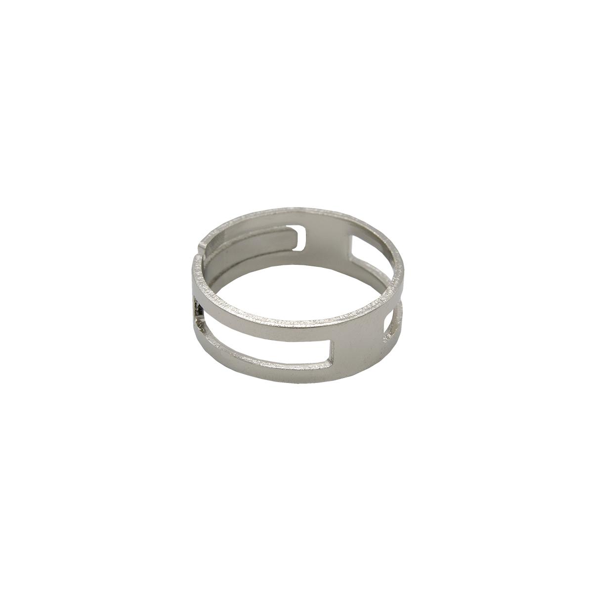 WH00200 Кольцо для открывания соединительных колечек, никель, d18 мм, упак./5 шт., 'Астра'