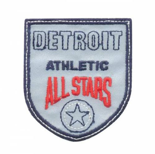 AD1385SV Термоаппликация Detroit Athletic, 7*6 см, Hobby&Pro