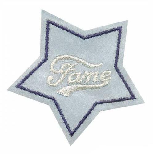 AD1393SV Термоаппликация Fame (звезда), 6,5*7 см, Hobby&Pro