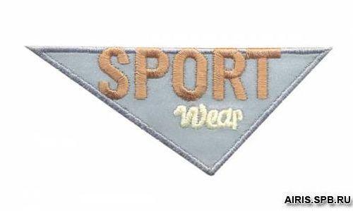 AD1403SV Термоаппликация 'Спорт', 4*10 см, Hobby&Pro